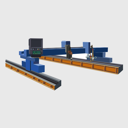 Gantry CNC cutting machine